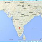 Bengaluru india map - Bangalore in india map