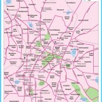 Bangalore City Map, City Map of Bengaluru with important places