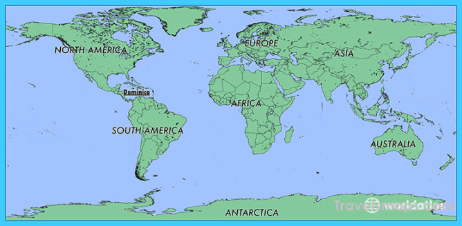 Where is Dominica? / Where is Dominica Located in The World