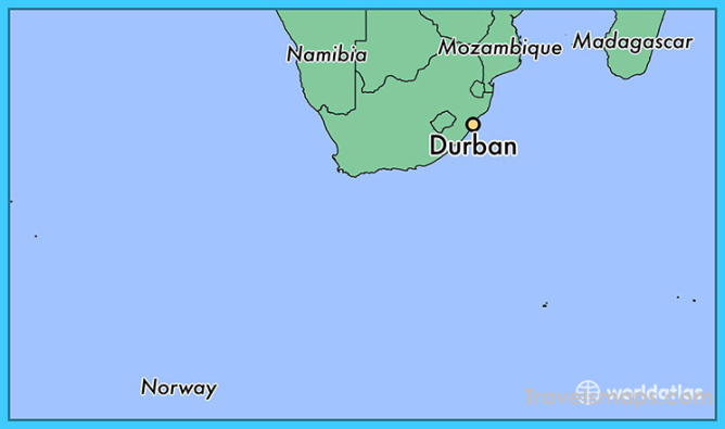 Where is Durban, South Africa? / Durban