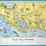 Durban South Africa Chuckle Map and Guide