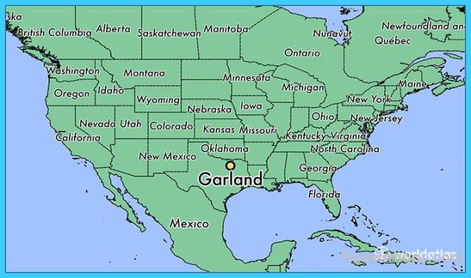 Where Is Garland Texas >> Where Is Garland Garland Map Map Of Garland
