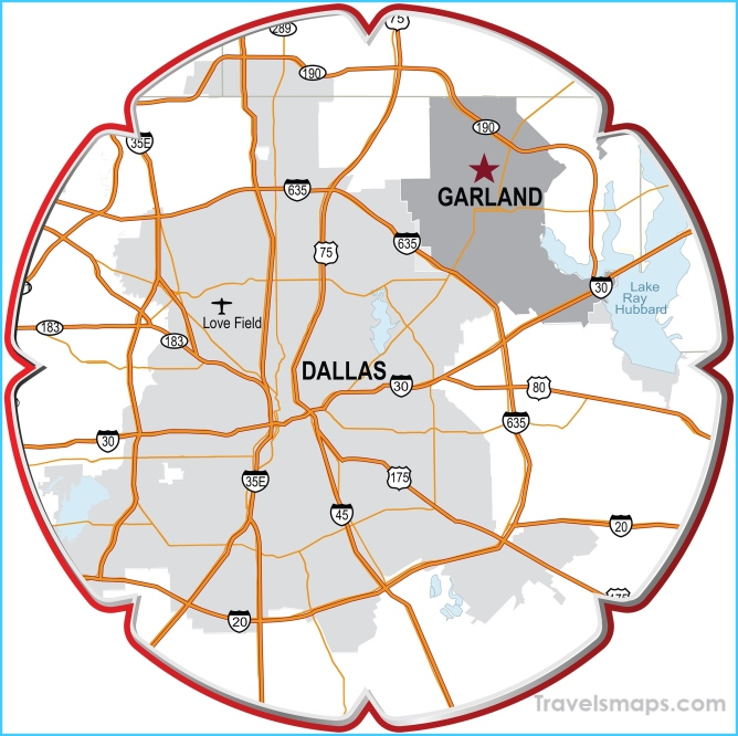 Where Is Garland Texas >> Where Is Garland Garland Map Map Of Garland