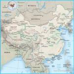Map of China, Beijing, Hong Kong