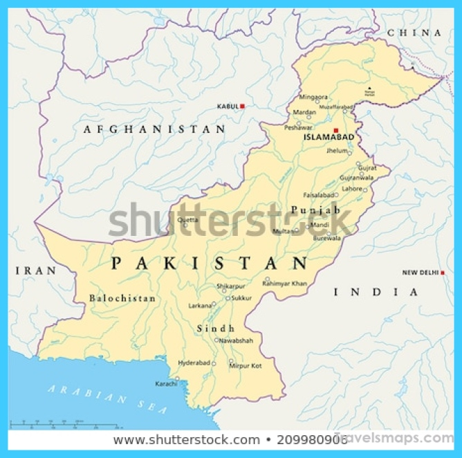 Islamabad Pakistan Map: Where Is Islamabad Pakistan?