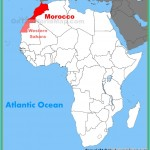Morocco location on the Africa map