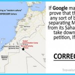 Petition Calls on Google to Correct Morocco's Map