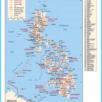 Maps of Philippines | Detailed map of Philippines in English