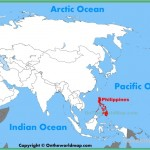 Where is the philippines on a map and travel information