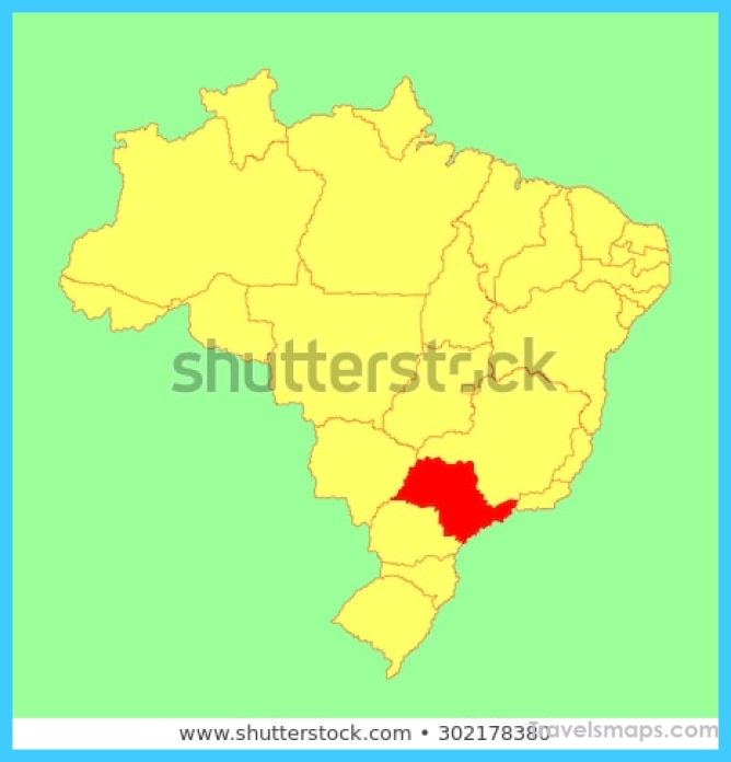Where is São Paulo Brazil? - São Paulo Brazil Map - Map of ...