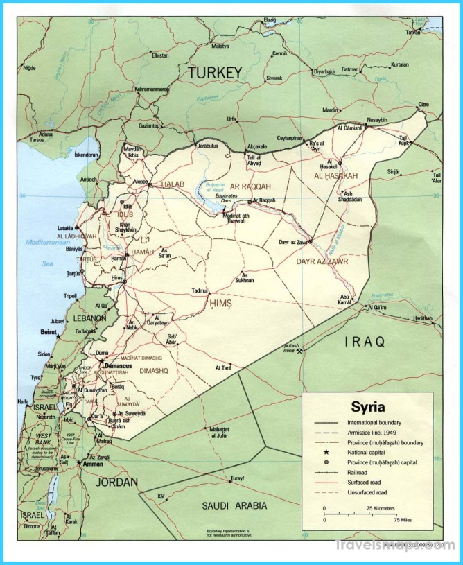 Syria Maps - Perry-Castañeda Map Collection