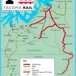 Tacoma Rail System Map
