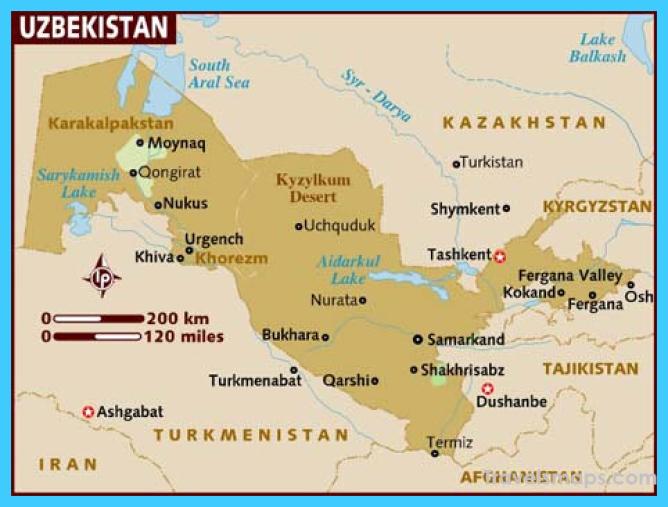 Tashkent Uzbekistan Map Location Archives - TravelsMaps.Com ®
