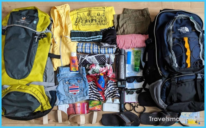 Thailand Packing List: Important things to take for a trip