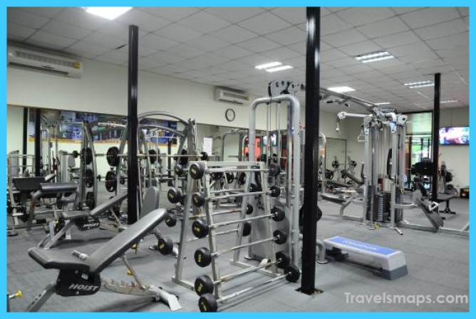Best gym in Pattaya for a low price - Review of Sport Point Pattaya