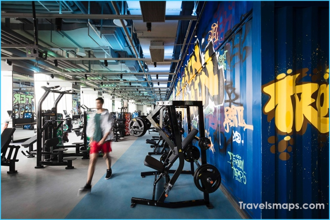 World's best hotel gyms:  great places to exercise