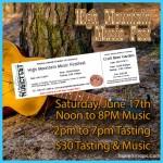 High Mountain Music Fest Tasting & Music Tickets