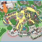 Park Map - Universal Studios Hollywood