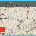 Free Shaded Relief Map of Jáchymov