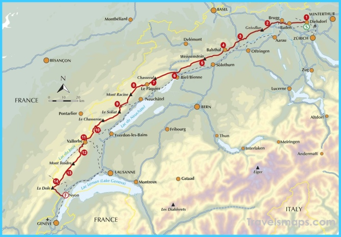 Map Of France Jura.Where Is Jura Mountains France Switzerland Jura Mountains