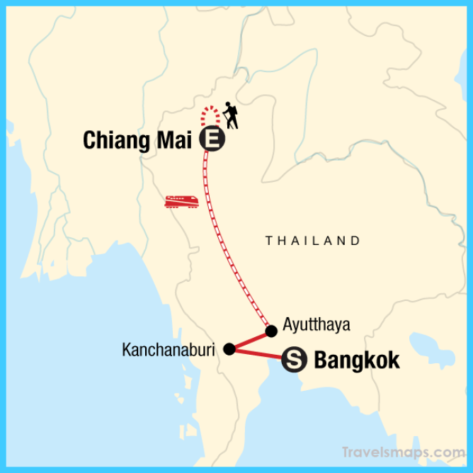 Where is Montevideo Chiang Mai? | Montevideo Chiang Mai Map ... on