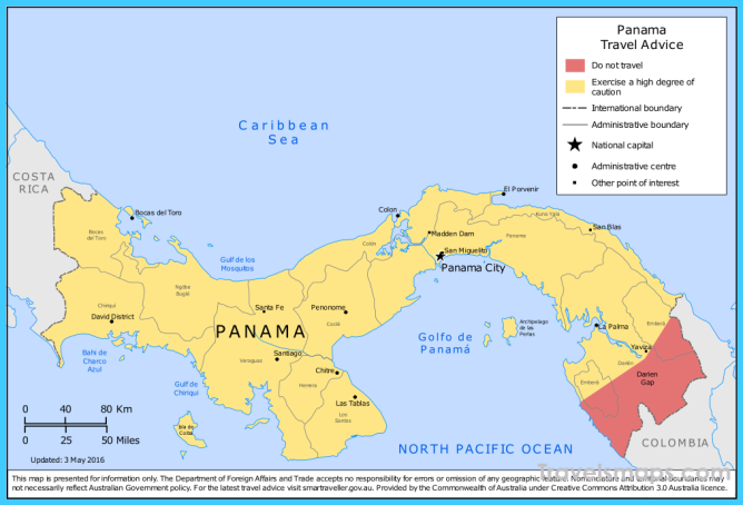 Where is Panama City, Panama? - Panama City, Panama Map ...
