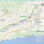 Panama metro map, Panama