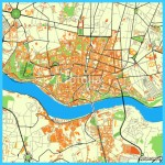 """Porto Portugal colorful map"""" Stock image and royalty-free vector"""