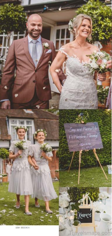 garden party wedding details