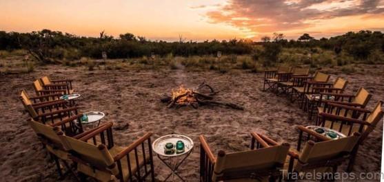 abu camp 15 minute cessna light from vumbura plains camp