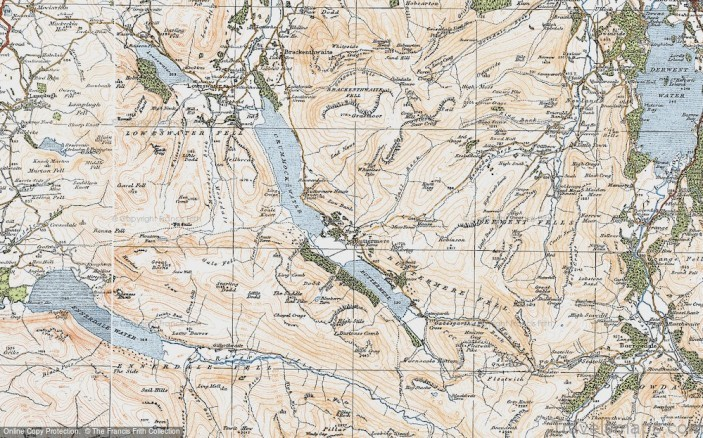 buttermere map buttermere camping 1