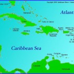 map of caribbean travel to caribbean1