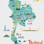 map of thailand travel to thailand1