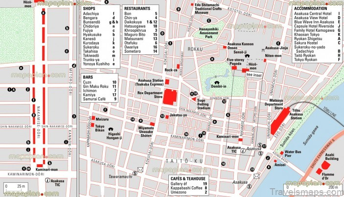 map of tokyo best places to visit in tokyo japan3