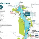 windermere map windermere lake district camping guide 3
