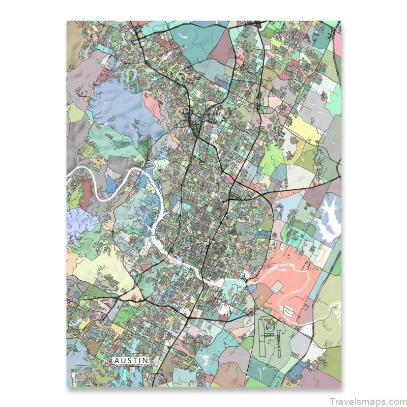 austin map free