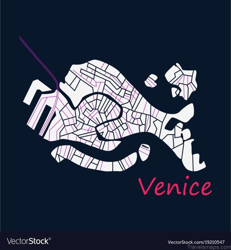 map of venice venice guide 1
