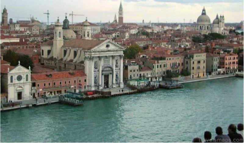 Map of Venice   Venice Guide