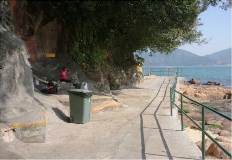 Stanley Beach Map The Best Beach in Hong Kong China