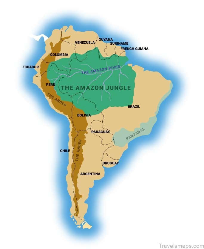 Amazon Jungle Overview