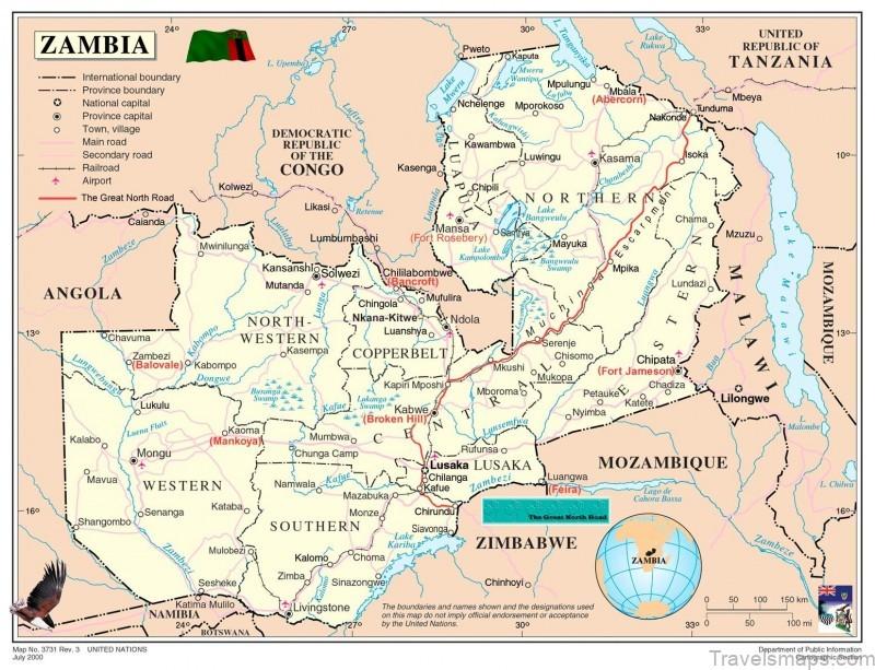 luxury safari time tide chinzombo zambia africa map of zambia africa 1