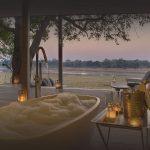 luxury safari time tide chinzombo zambia africa map of zambia africa 5