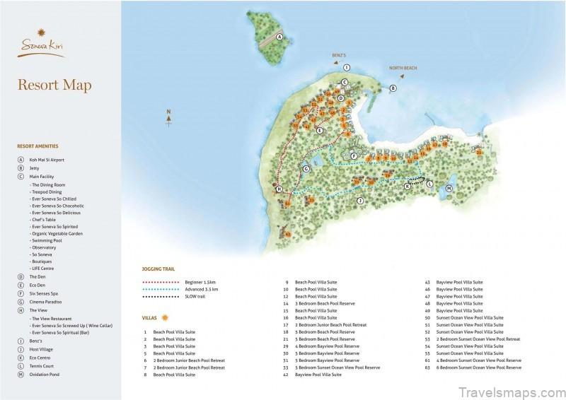 map of koh kood thailand soneva kiri thailand 10