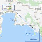 map of koh kood thailand soneva kiri thailand 13